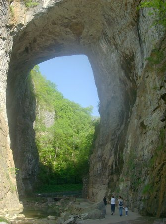 Natural Bridge close up
