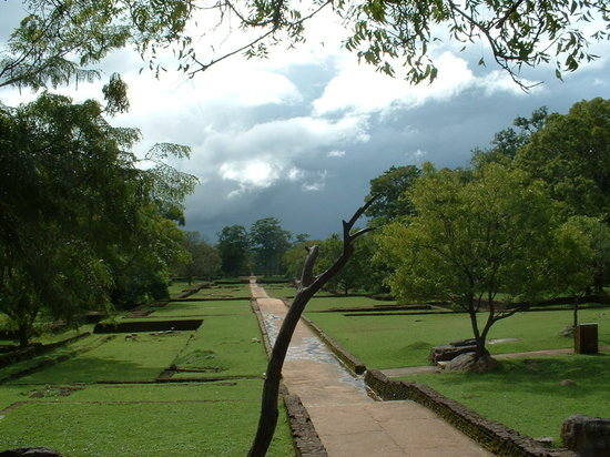 Sigiriya, Sri Lanka: The beautiful gardens