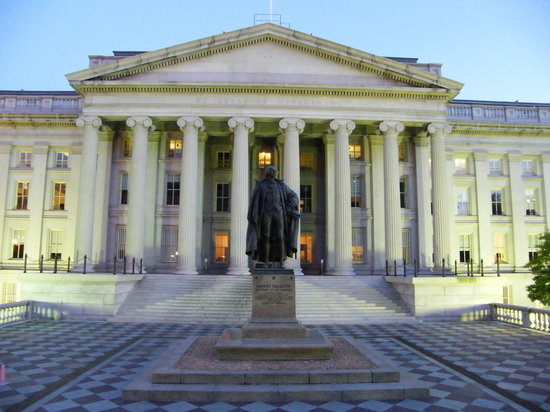 United states department of the treasury washington dc dc on