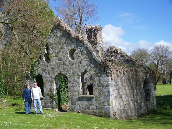 Adare, Ireland: Ruins on the manor grounds
