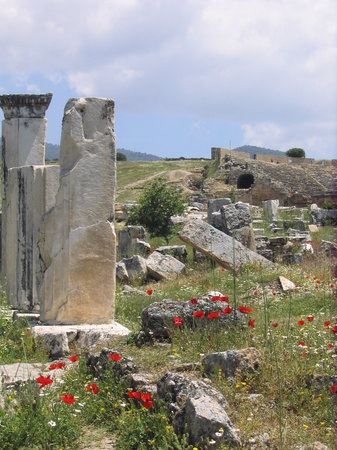 Ovacik, Turchia: ruins of Heiropolis