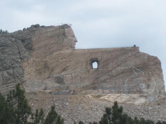 Coyote Blues Village B&amp;B: Crazy Horse Monument