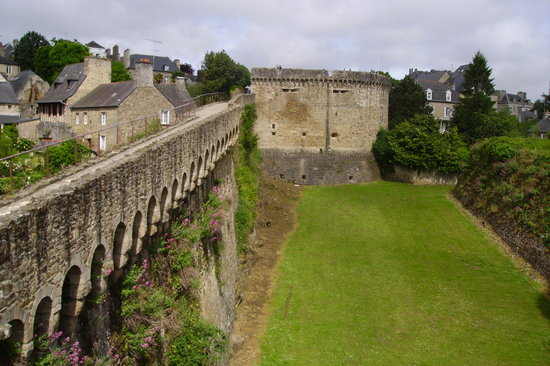 Dinan, Frankreich: remparts
