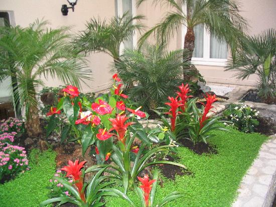 The indoor garden picture of best western le jardin de for Best western le jardin de cluny paris