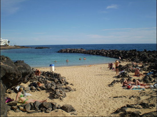 Costa Teguise, Espagne : another beach 