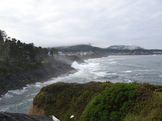Depoe Bay, OR: View from Room 10