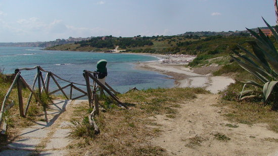 Sciacca, Italien: The Beach