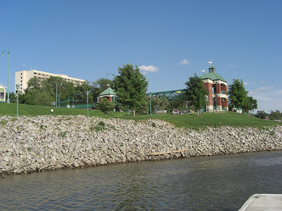 Clarksville, TN: view from the Riverwalk