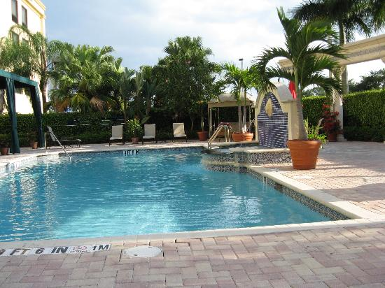 Pool Area Picture Of Hampton Inn Boca Raton Deerfield Beach Deerfield Beach Tripadvisor