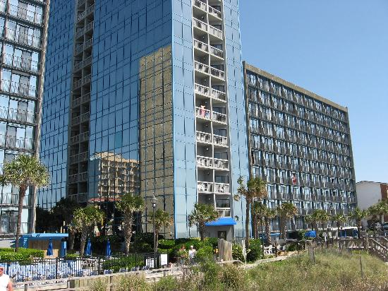 View Of Beach From Room Picture Of Seaglass Tower Myrtle Beach Tripadvisor