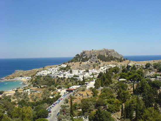 Kolimbia, Greece: Lindos