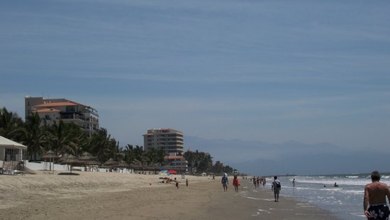 Beach in nuevo Vallarta
