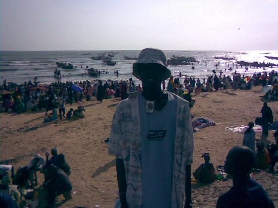 Senegal: saly fish market