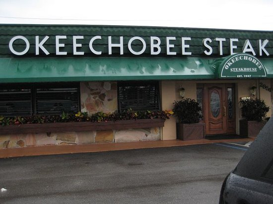 Front Door Picture Of Okeechobee Steakhouse West Palm Beach Tripadvisor