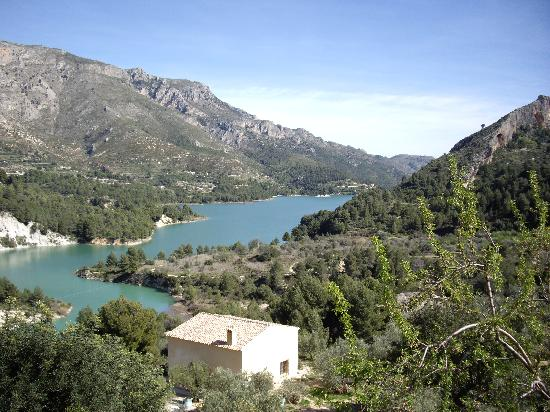 Guadalest Valley Spain Guadalest Valley Photo