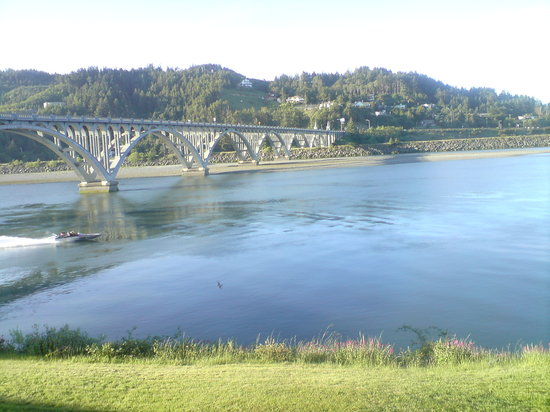 Gold Beach, OR: View from room 01