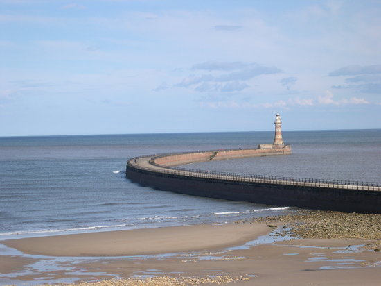 Sunderland, UK: The end of the C2C Bicycle ride