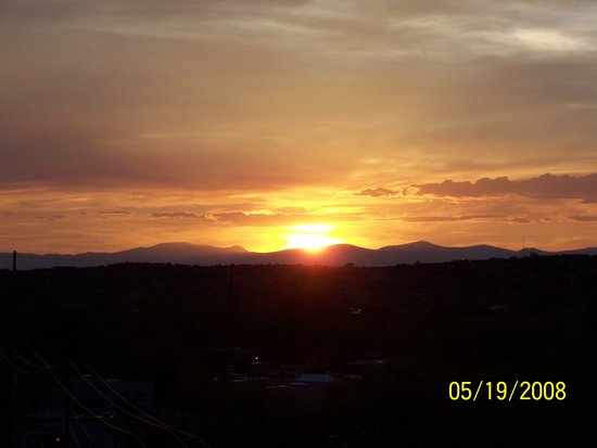 Santa Fe, NM: Sunset