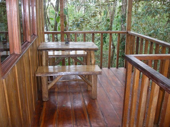 Tree Houses Hotel Costa Rica: The porch