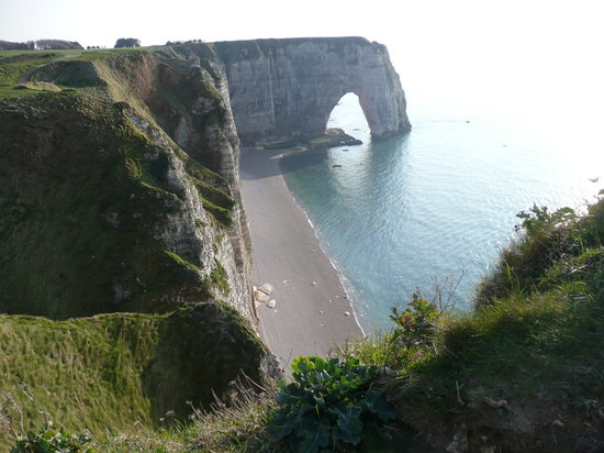 Etretat, France: shore