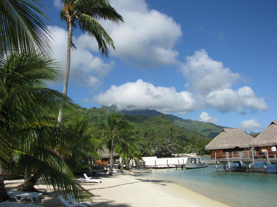 Maharepa, French Polynesia: Regular beach bungalows