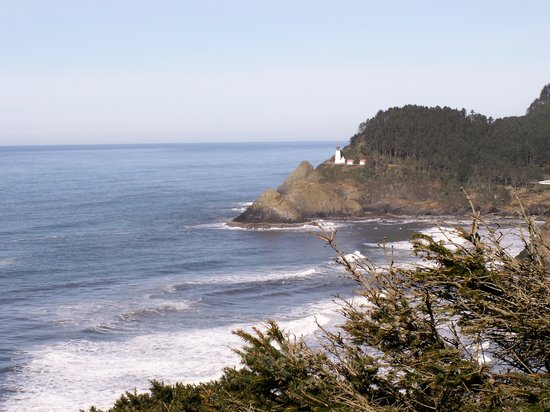 Орегон: Heceta Head Lighthouse - Oregon