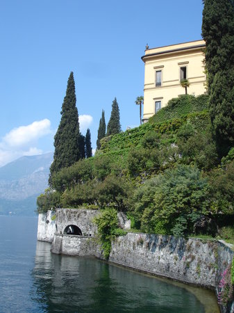 Varenna, Italy: A view from the gardens