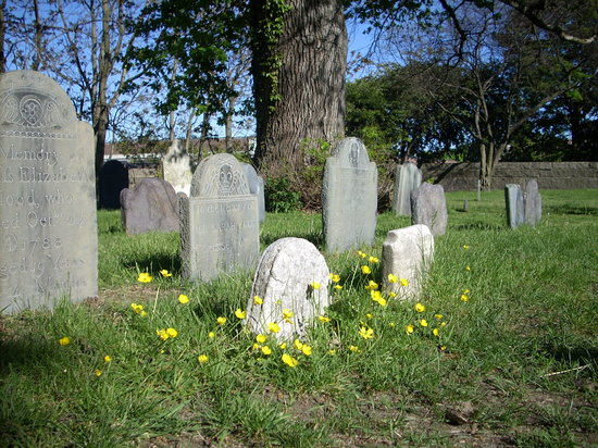 Salem, MA: Old Burying Gournd Cemetery