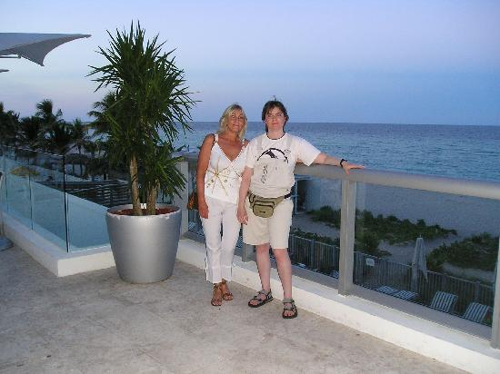 Sunny Isles Beach, FL: terraza resto le meridien