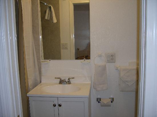 Arizona 9 Motor Hotel: Bathroom