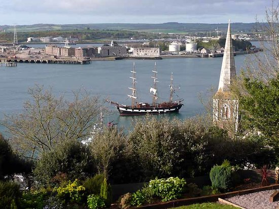 Cobh, Irlanda: Recreated Famine Ship from room