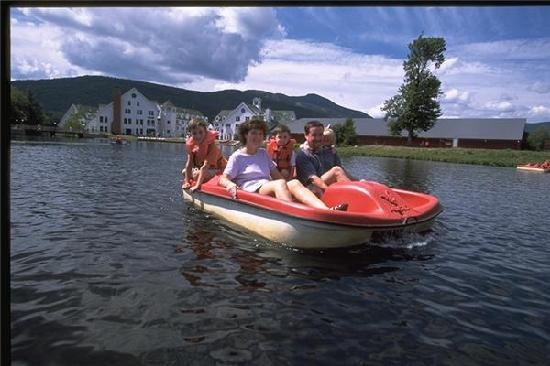 Town Square Condominiums at Waterville Valley Resort: Family fun!
