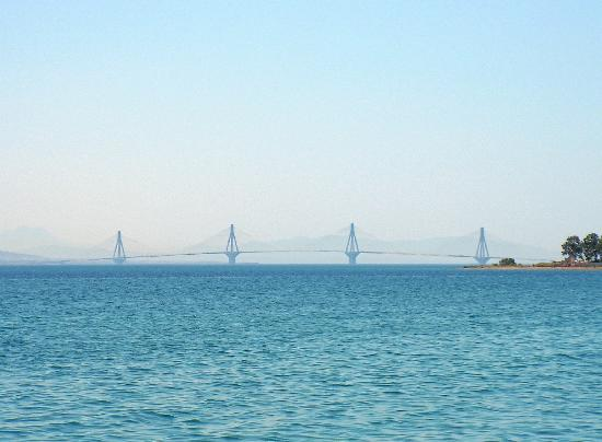 ‪‪Naupactus‬, اليونان: Rio-Antirrio Bridge‬