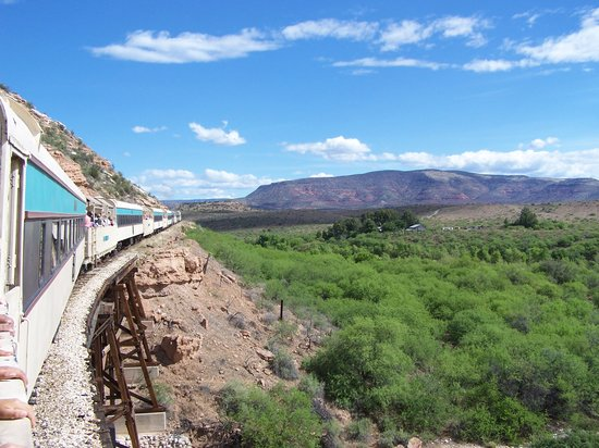 Clarkdale, Аризона: Verde Canyon Railroad