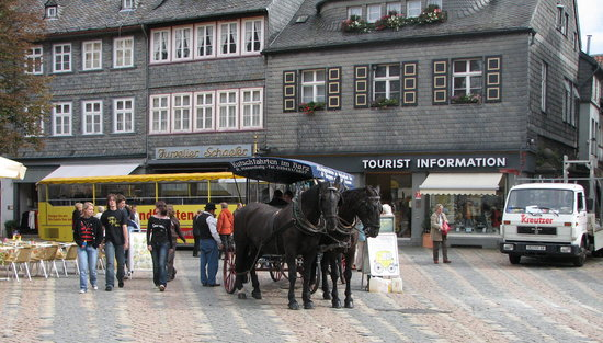 The centre of Goslar