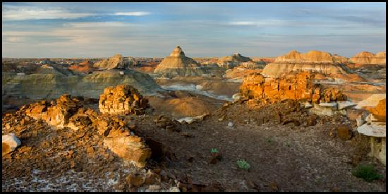 Farmington, Nuevo Mexico: Bisti Early Light