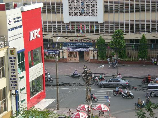 Quynh Kim Hotel 1: Day time view from balcony