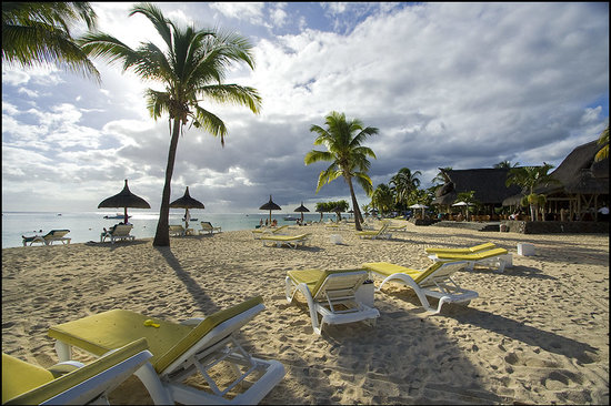 Sofitel Mauritius L'Imperial Resort & Spa: beach
