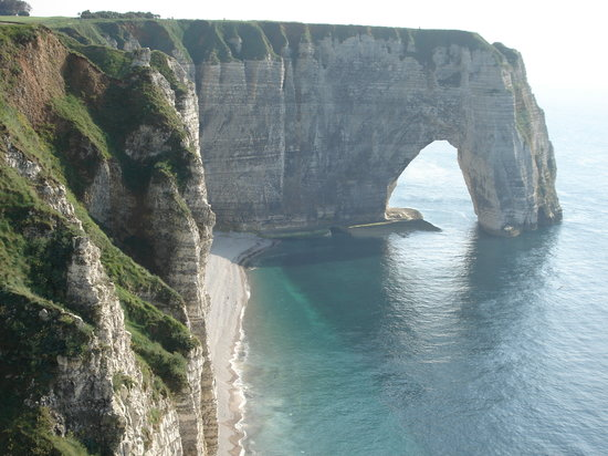 Etretat, France: Magnifiques vues...