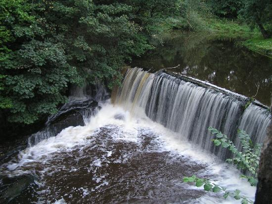 Motherwell, UK: Old Mill Hotel stream
