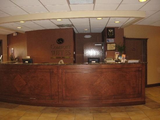 Comfort Suites Panama City Beach: front desk