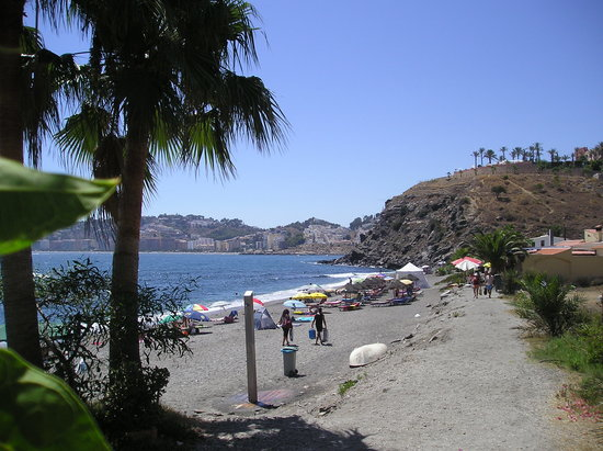 Almunecar, Spanien: Playa Cabria
