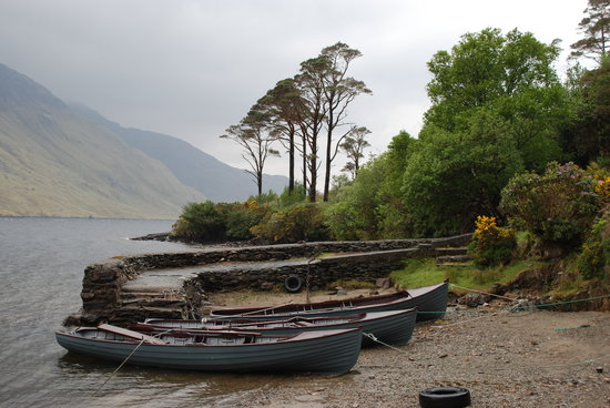County Mayo, Ierland: South end of Doo Lough