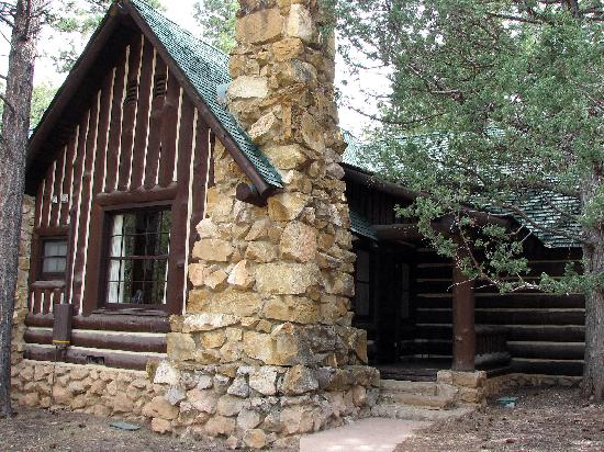 Our western cabin picture of bryce canyon lodge bryce for Bryce canyon cabin rentals