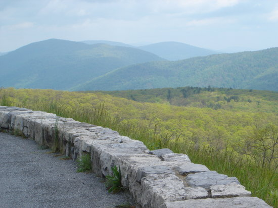 Shenandoah National Park, เวอร์จิเนีย: Along Skyline Drive