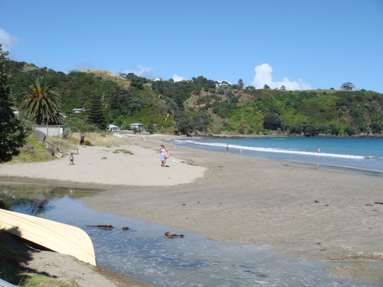 Waiheke Island, New Zealand: 5 minutes away from glorious Palm Beach