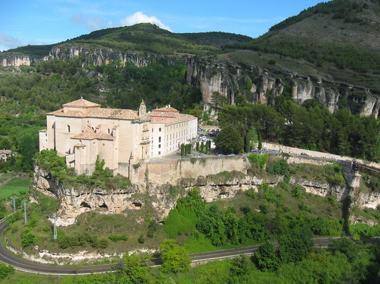 Cuenca, Espagne : The view from the Hostal Posada de San Jose 