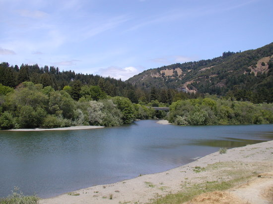 Duncans Mills, CA: Another view of the beach