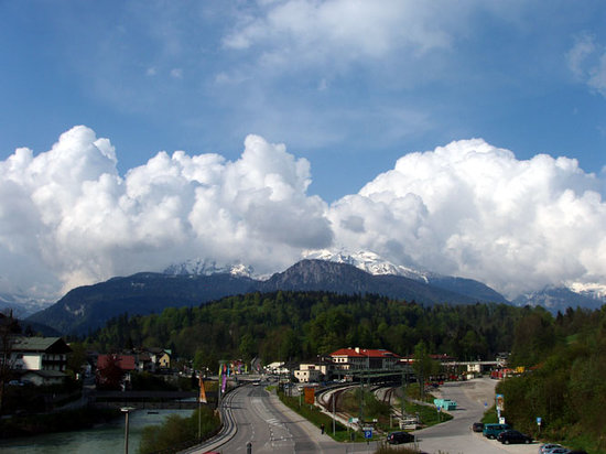 Berchtesgaden, Allemagne : Balcony View 