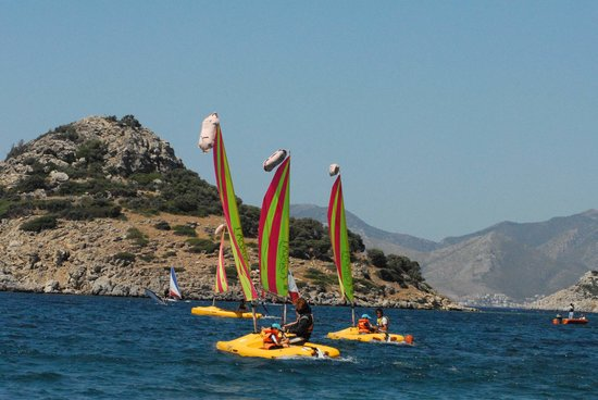 Datca, Turkey: Funboat sailing